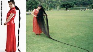 اطول-شعر-في-العالم-حقيقي-امراة
