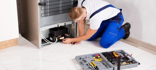 حل-مشكلة-عدم-تبريد-الثلاجة-من-الاسفل